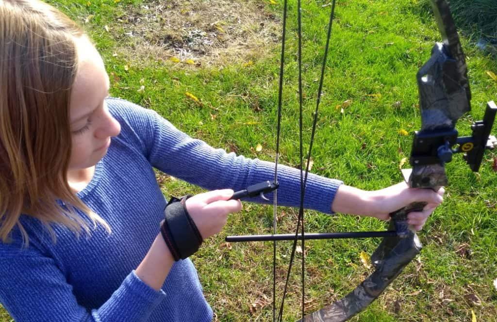 Details about  /Compound Bow Archery Release Aid Canvas Adjustable Wrist Release Trigger Target